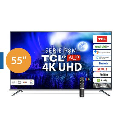 "Led TCL 55P8M / 55"" / Ultra HD / 4K / Smart Tv"
