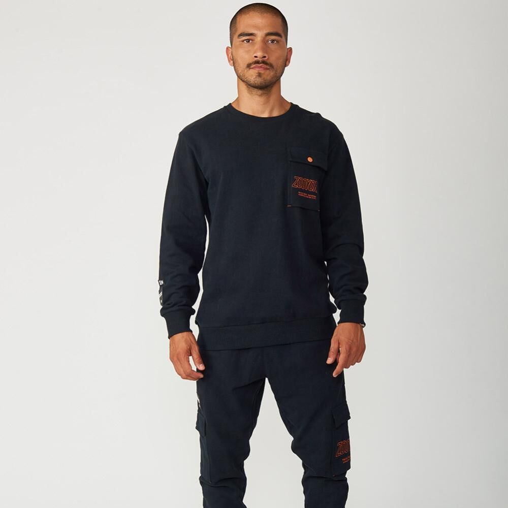 Polerón Hombre Zoo York Crew Neck Charged image number 3.0