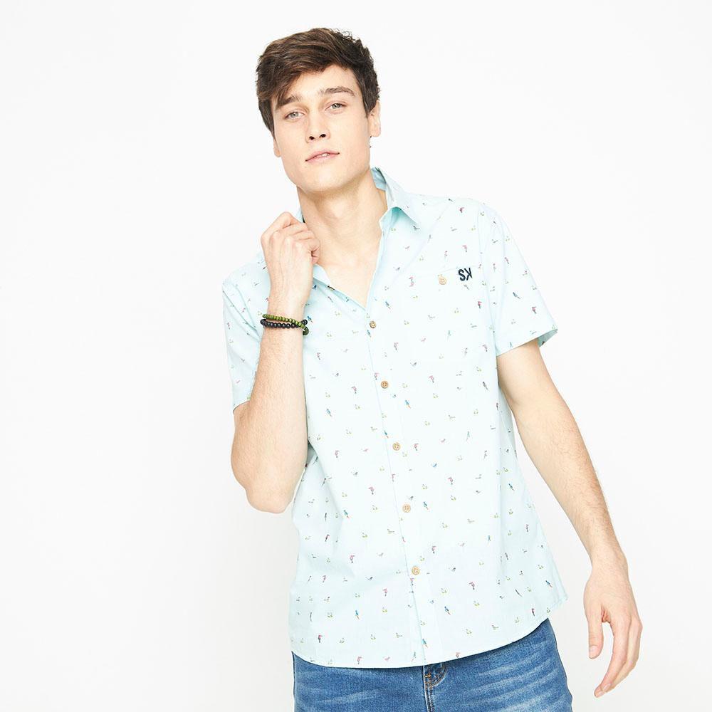 Camisa Sin Mangas Con Diseño Hombre Skuad image number 0.0