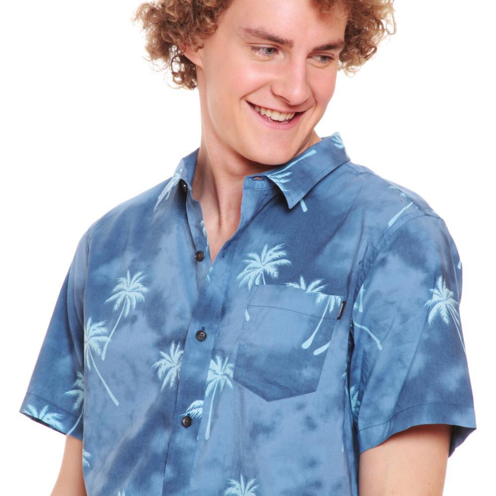 Camisa Hombre Maui Azul image number 1.0