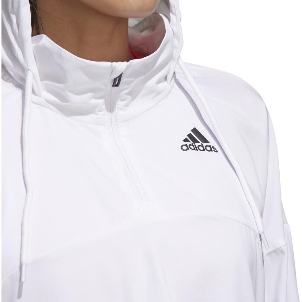 Polerón Deportivo Mujer Adidas Activated Tech image number 10.0