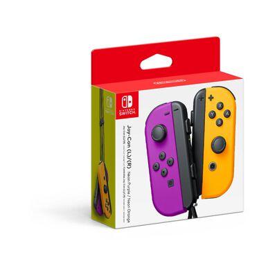 Control Nintendo Switch Joy/l R Neon Purple/orange