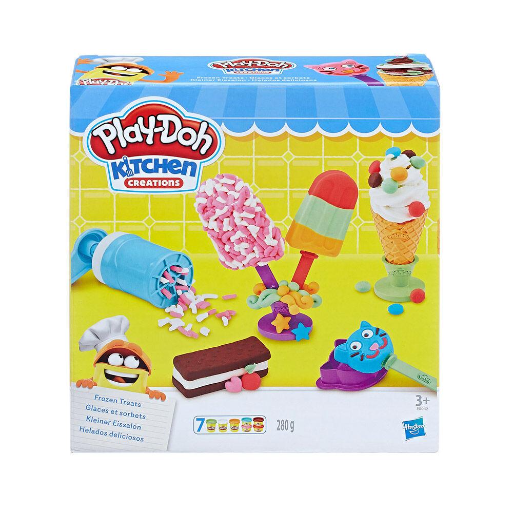 Juego Didáctico Hasbro Play-Doh Frozen Treats image number 0.0