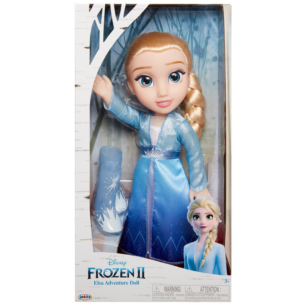Muñecas Toddler Frozen 2 Elsa image number 6.0