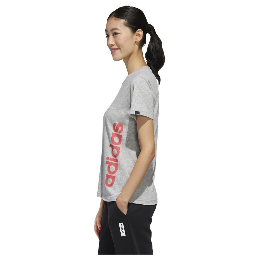 Polera Mujer Adidas Gráfica Vertical image number 6.0