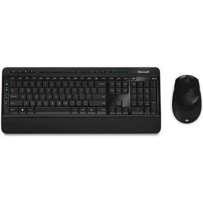 Combo Mouse + Teclado Microsoft Wireless Desktop 3050 Aes