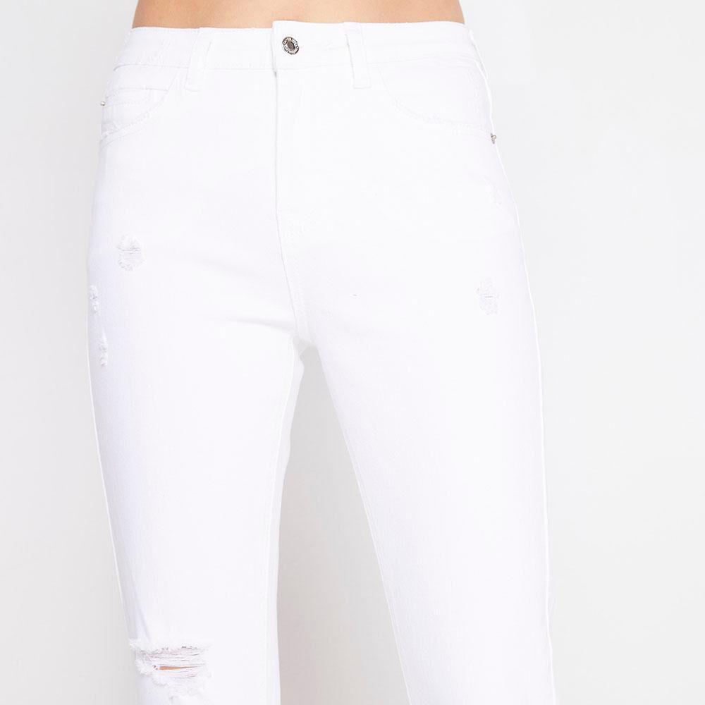 Jeans Tiro Alto Super Skinny Mujer Freedom image number 3.0