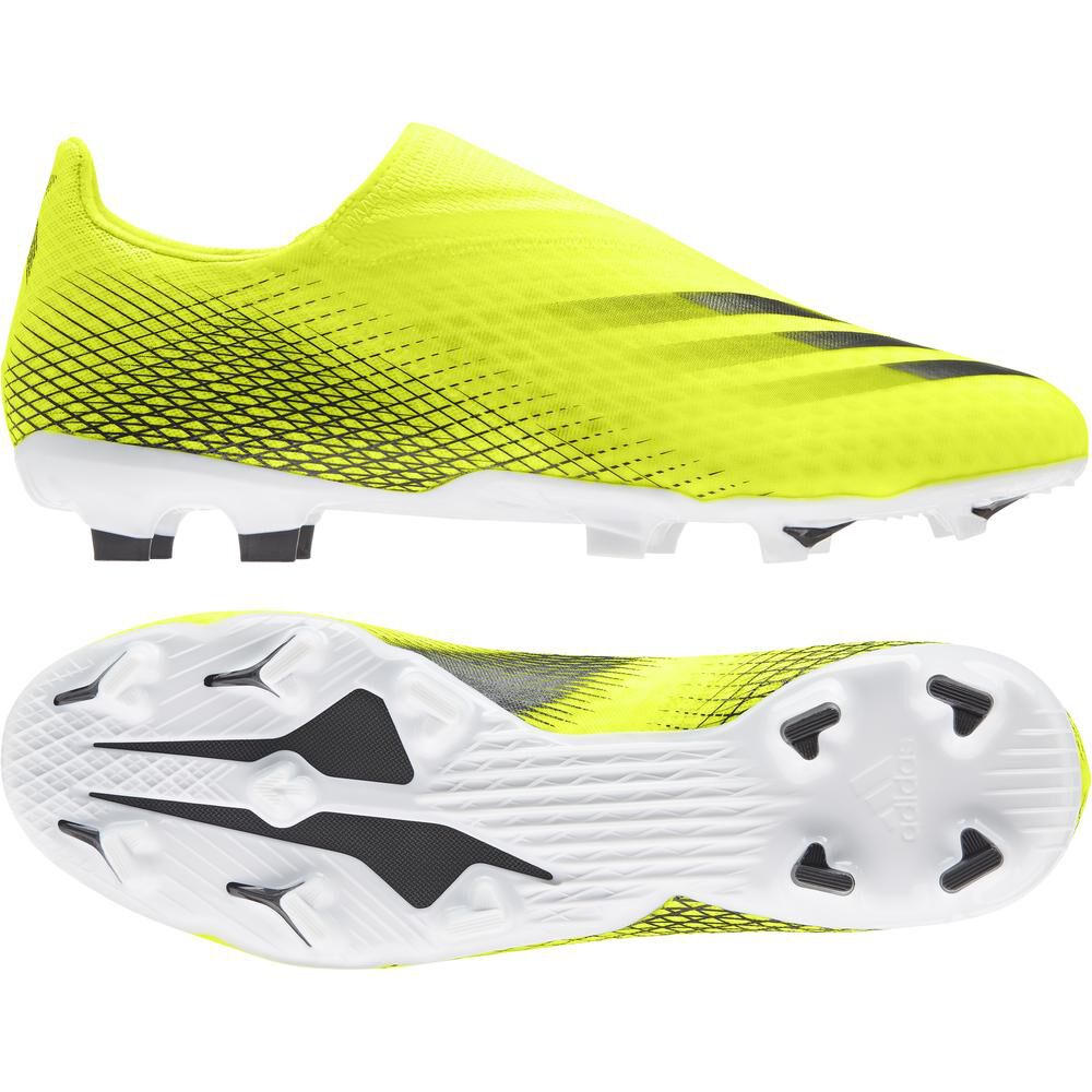 Zapatilla Fútbol Infantil Hombre Adidas X Ghosted.3 Ll Fg image number 4.0