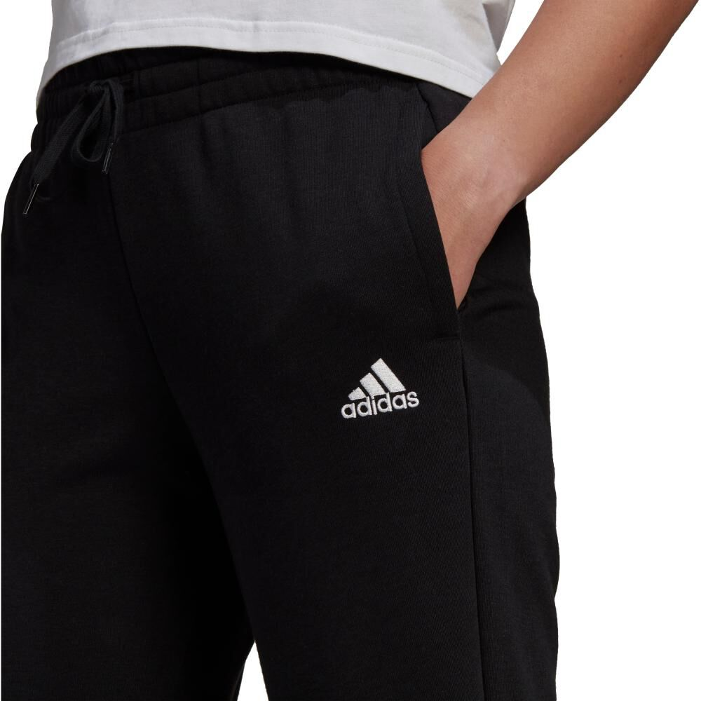 Pantalón De Buzo Mujer Adidas Essentials French Terry Logo image number 3.0
