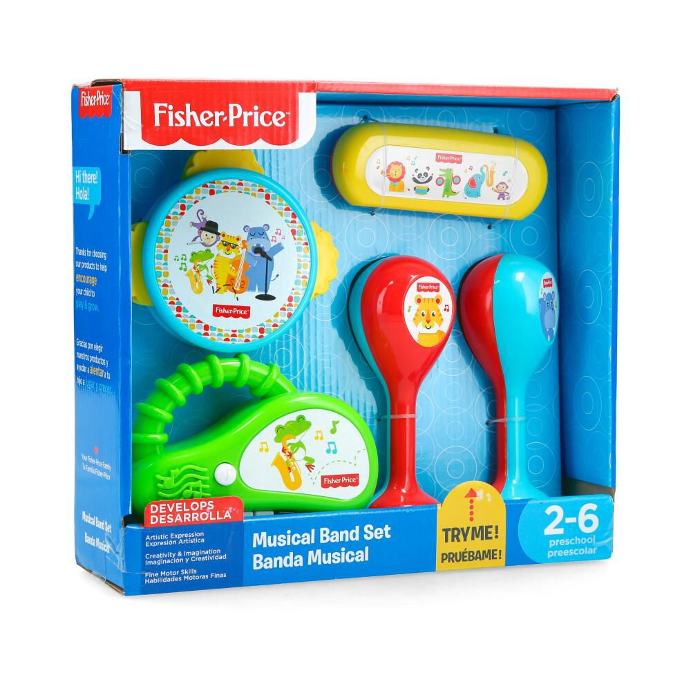 Juego Didactico Fisher Price Banda Musical image number 0.0
