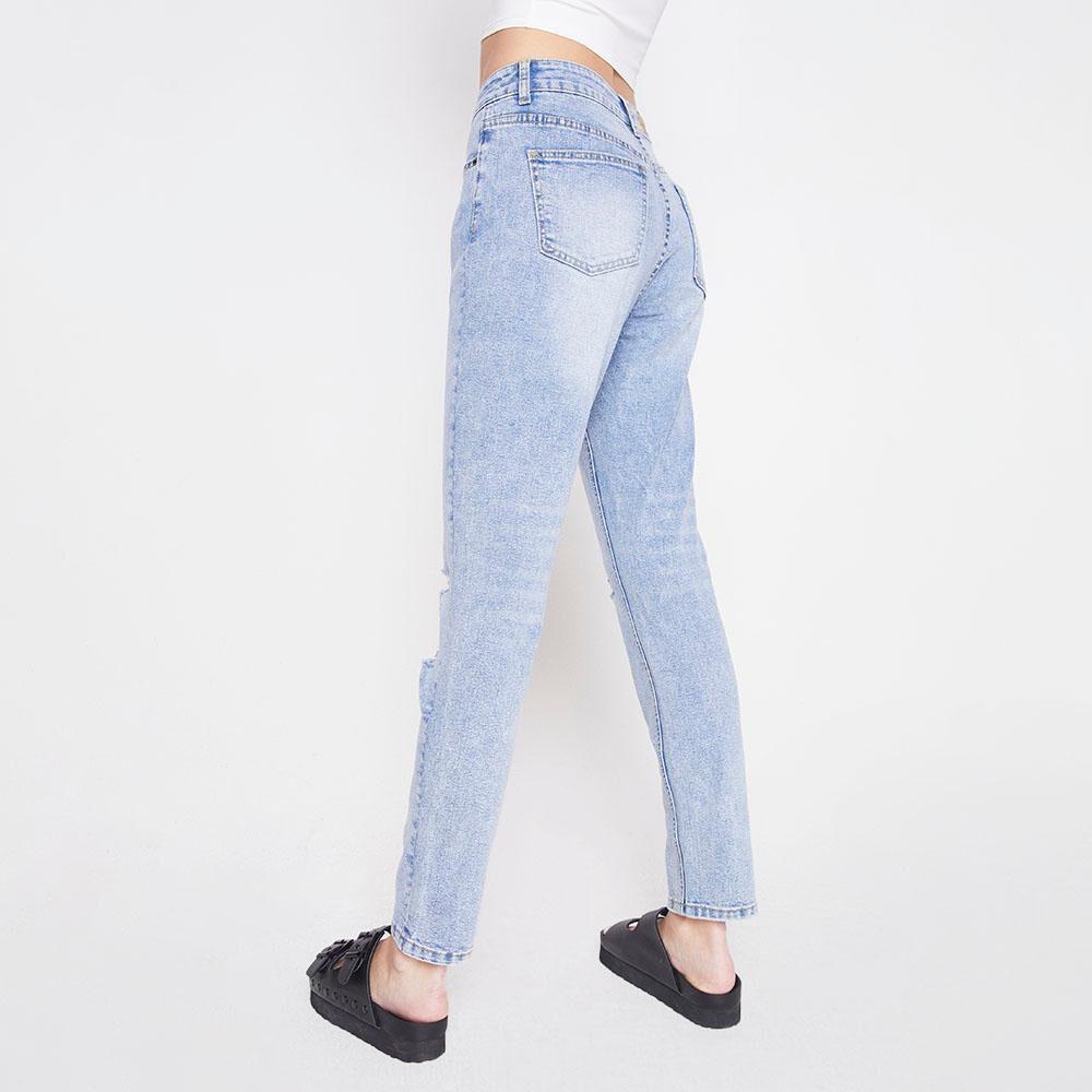 Jeans Tiro Alto Skinny Mujer Freedom image number 2.0