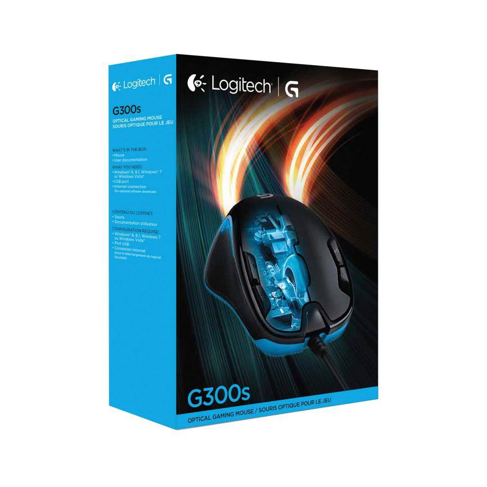Mouse Gamer Logitech G300 - image number 2.0