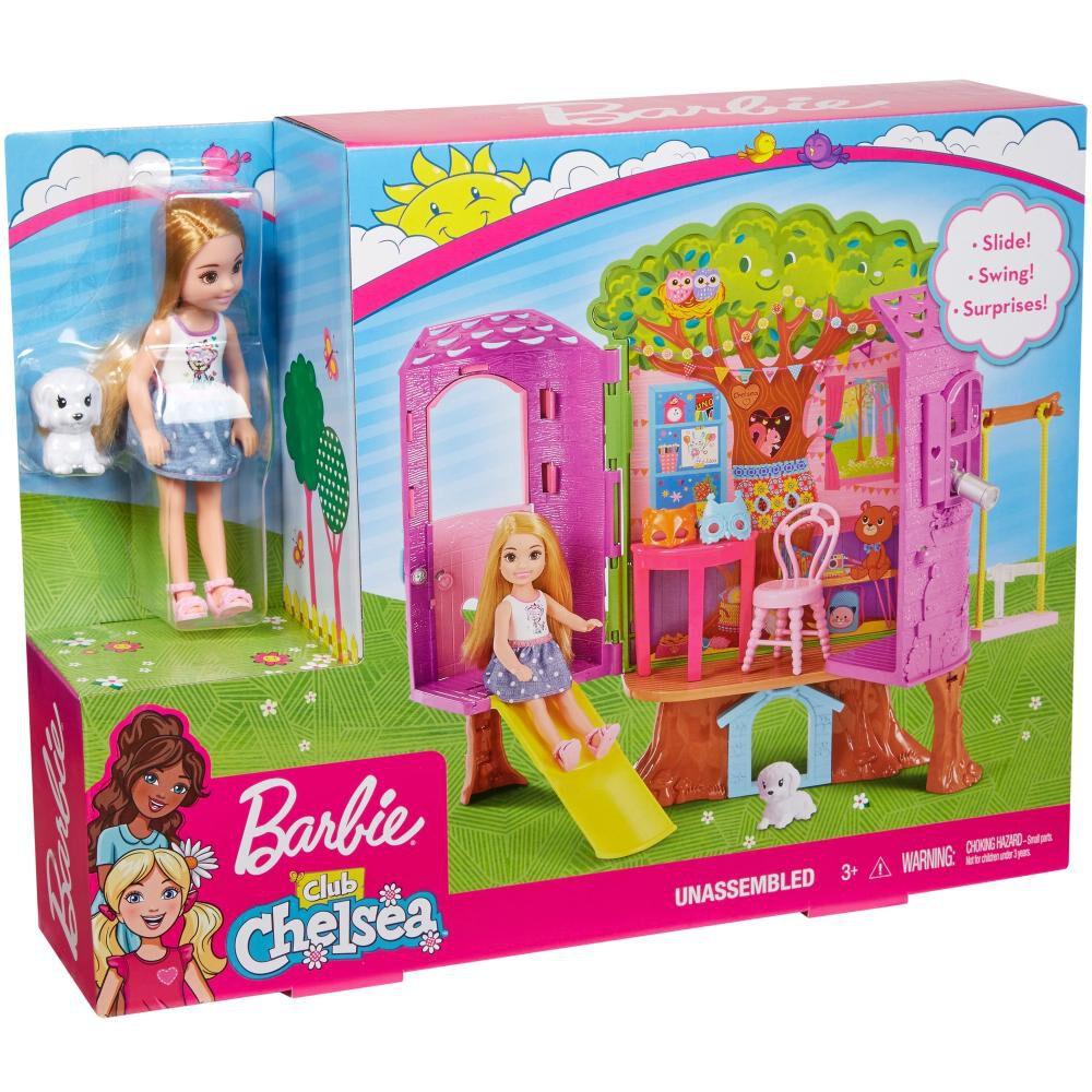 Muñeca Barbie Chelsea Casa Del Árbol image number 3.0