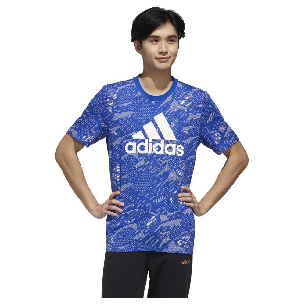 Polera Hombre Adidas Essentials Allover Print image number 0.0