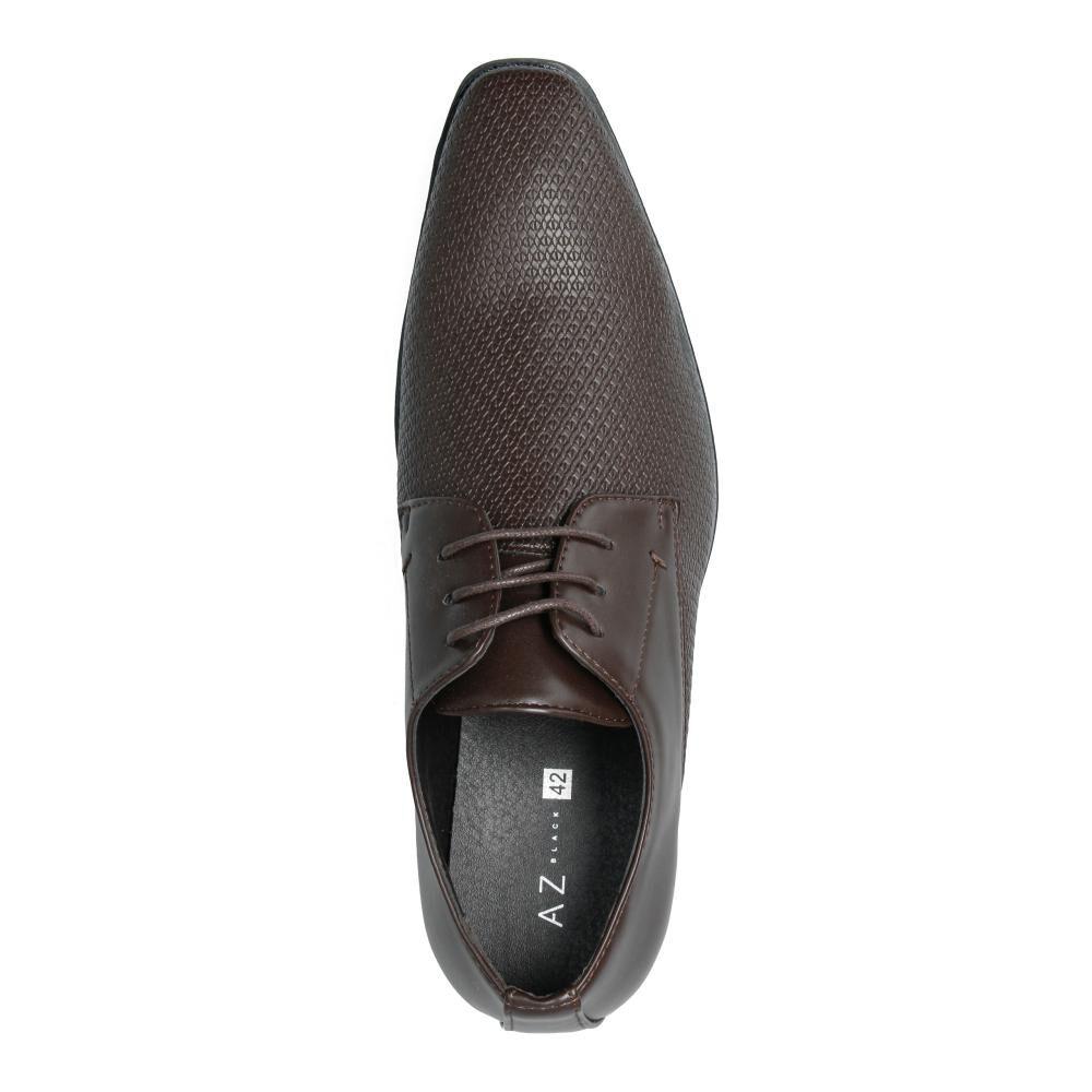 Zapato De Vestir Hombre Az Black image number 3.0
