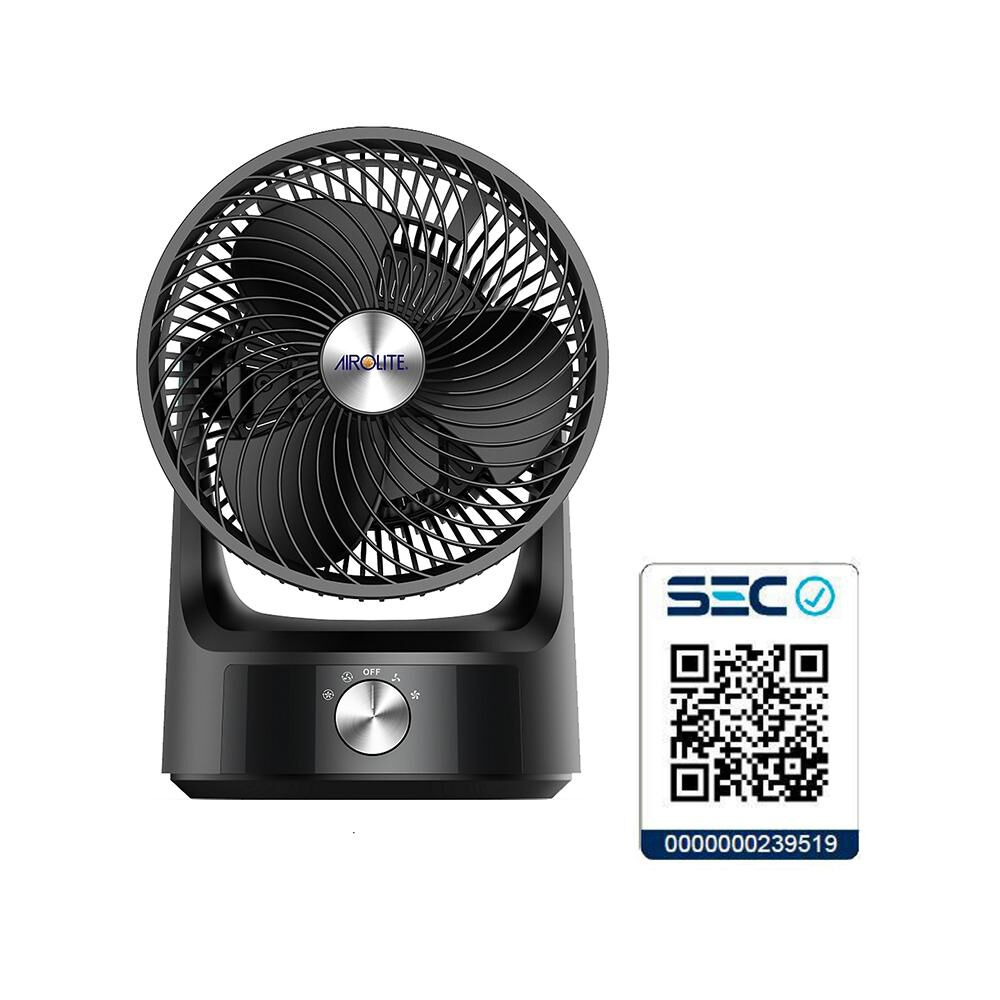 Ventilador Airolite 360 de Sobremesa Turbo Vst08 / 8 Pulgadas image number 4.0