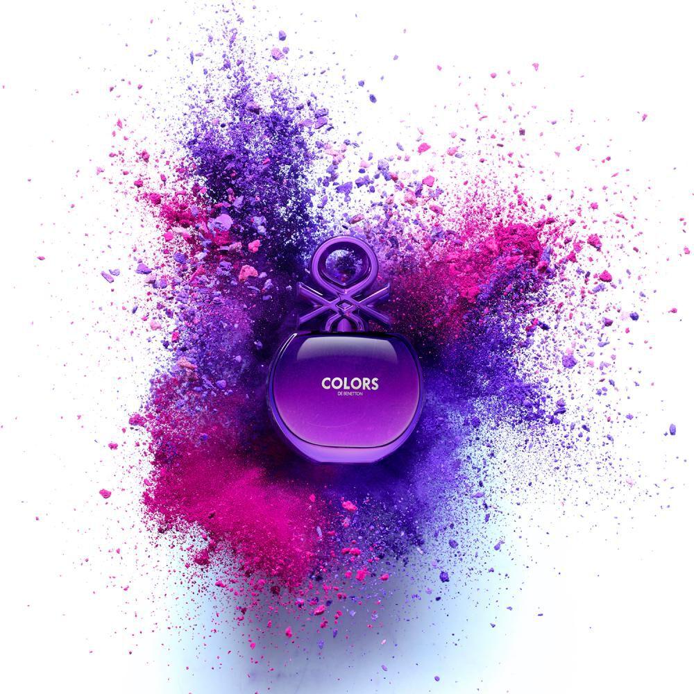 Perfume Colors Purple Woman Benetton / 80 Ml / Edt image number 4.0