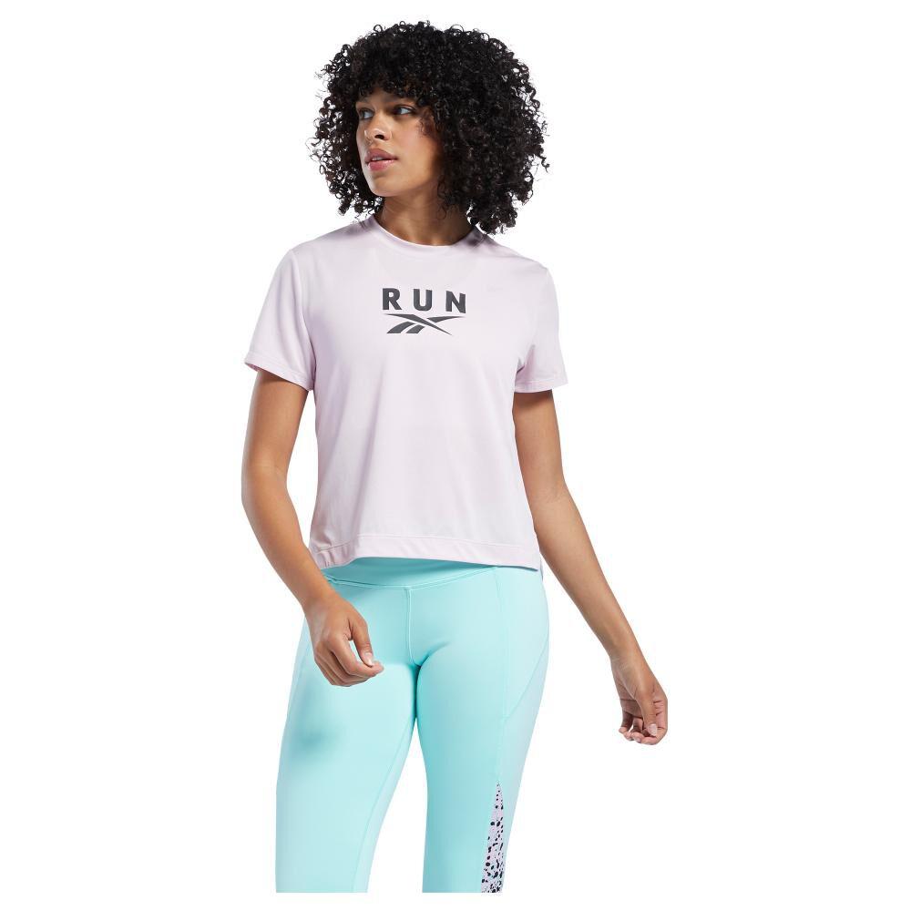 Polera Mujer Reebok Workout Ready Run Speedwick Graphic Tee image number 0.0