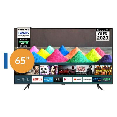 "Qled Samsung 65Q60TA / 65"" / Ultra HD / 4K / Smart Tv"