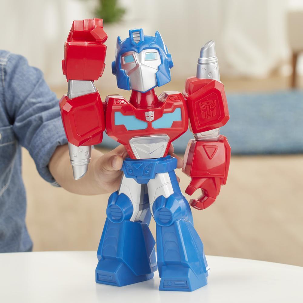 Figura De Accion Transformers Mega Mighties Optimus Prime image number 3.0
