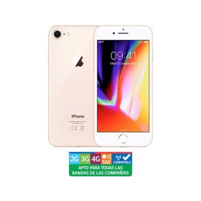 Smartphone Apple Iphone 8 Reacondicionado Oro / 256 Gb / Liberado