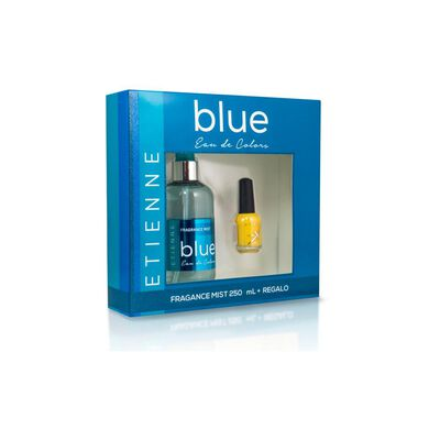 Set De Perfumería Mist Blue Etienne Essence / 250 Ml / Eau De Toillete + Esmalte De Uñas