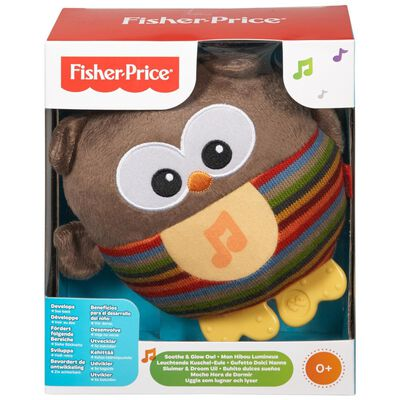 Peluche Didactico Fisher Price Búho Brillos Luminosos