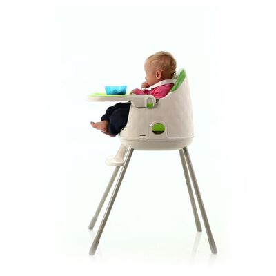 Silla De Comer Safety Jelly Green