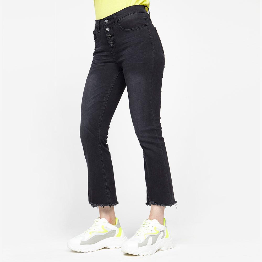 Jeans Mujer Tiro Alto Flare Kimera image number 0.0
