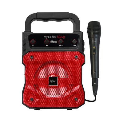 Parlante Para Karaoke Microlab My Lil First Red