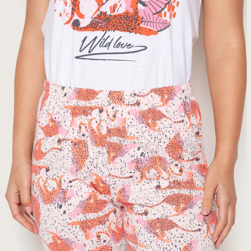 Pijama Mujer Palmers image number 3.0