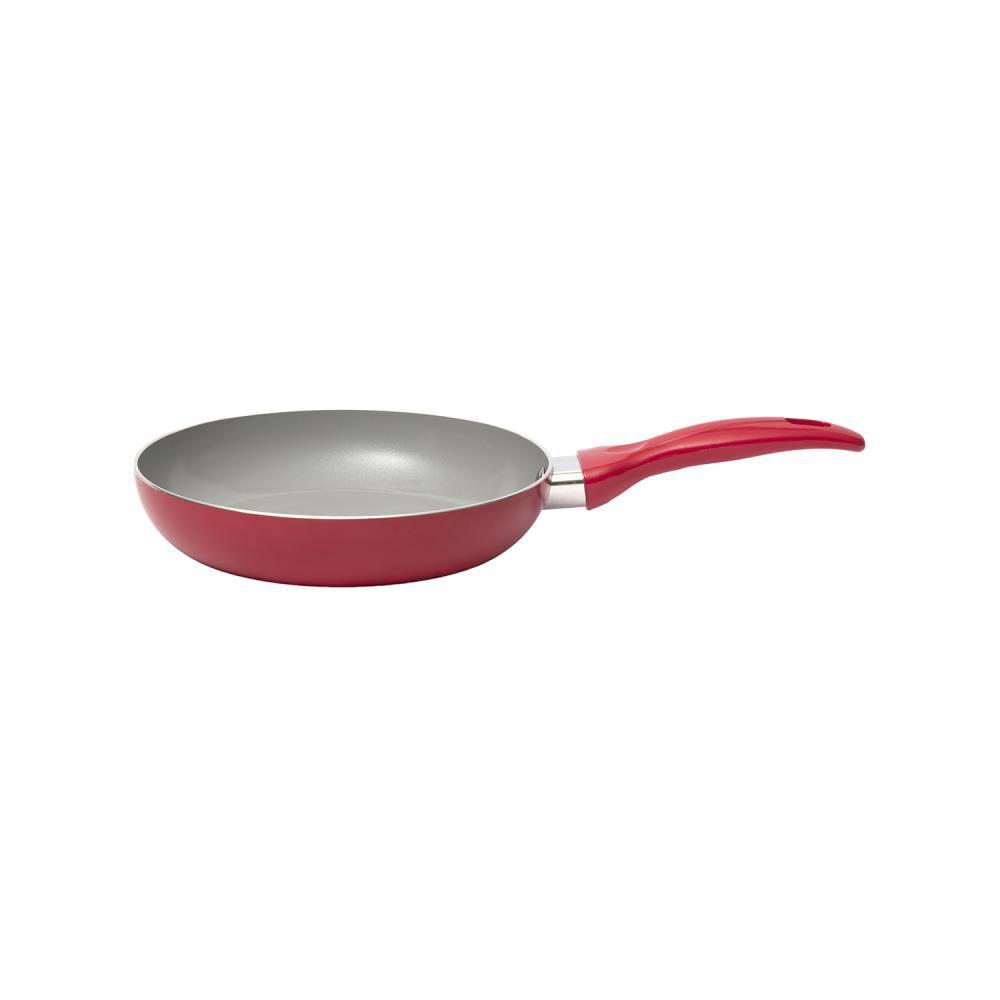 Sarten Kitchenware Básico Rojo / 1 Pieza image number 0.0