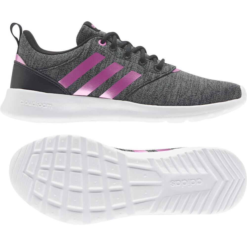 Zapatilla Running Mujer Adidas Qt Racer 2.0 image number 4.0