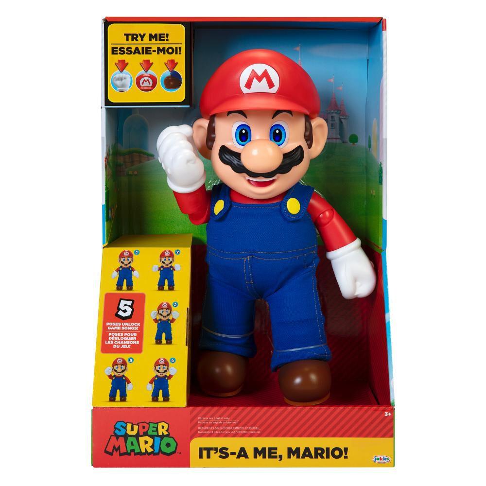 Figura Nintendo Mario Con Sonido image number 0.0
