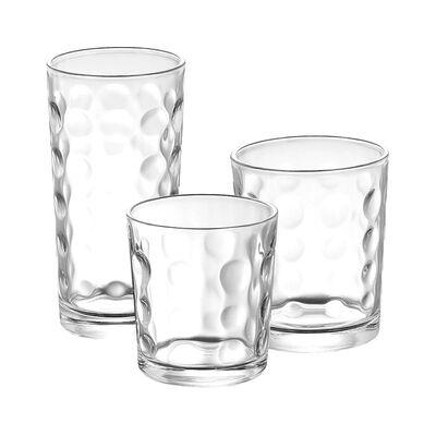 Set De Vasos Allegra Dot  / 18 Piezas