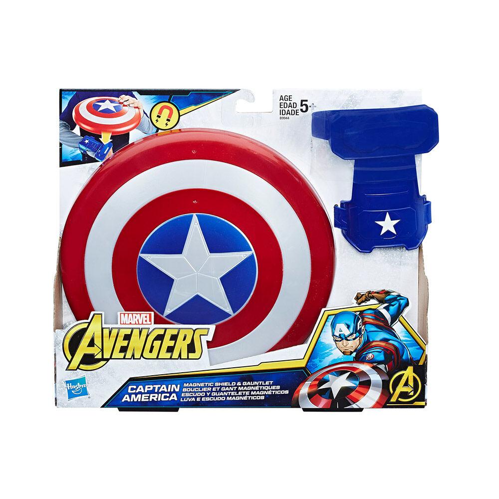 Juego De Acción Hasbro Avengers Escudo Y Guantelete Magnético image number 0.0