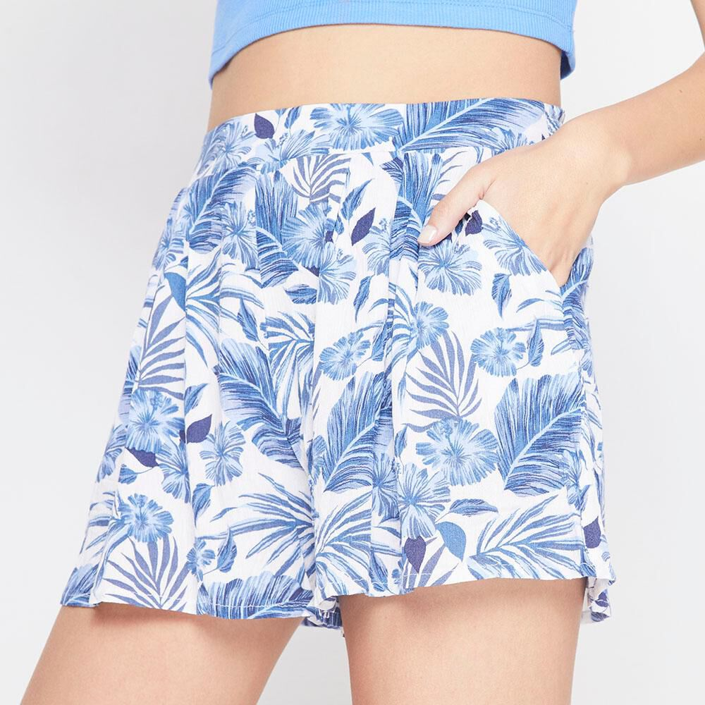 Short Tiro Medio Relaxed Mujer Freedom image number 3.0