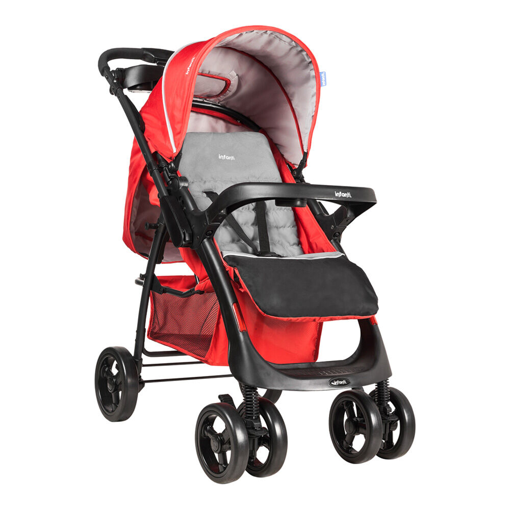 Coche Travel System Andes Mist Red Infanti image number 1.0