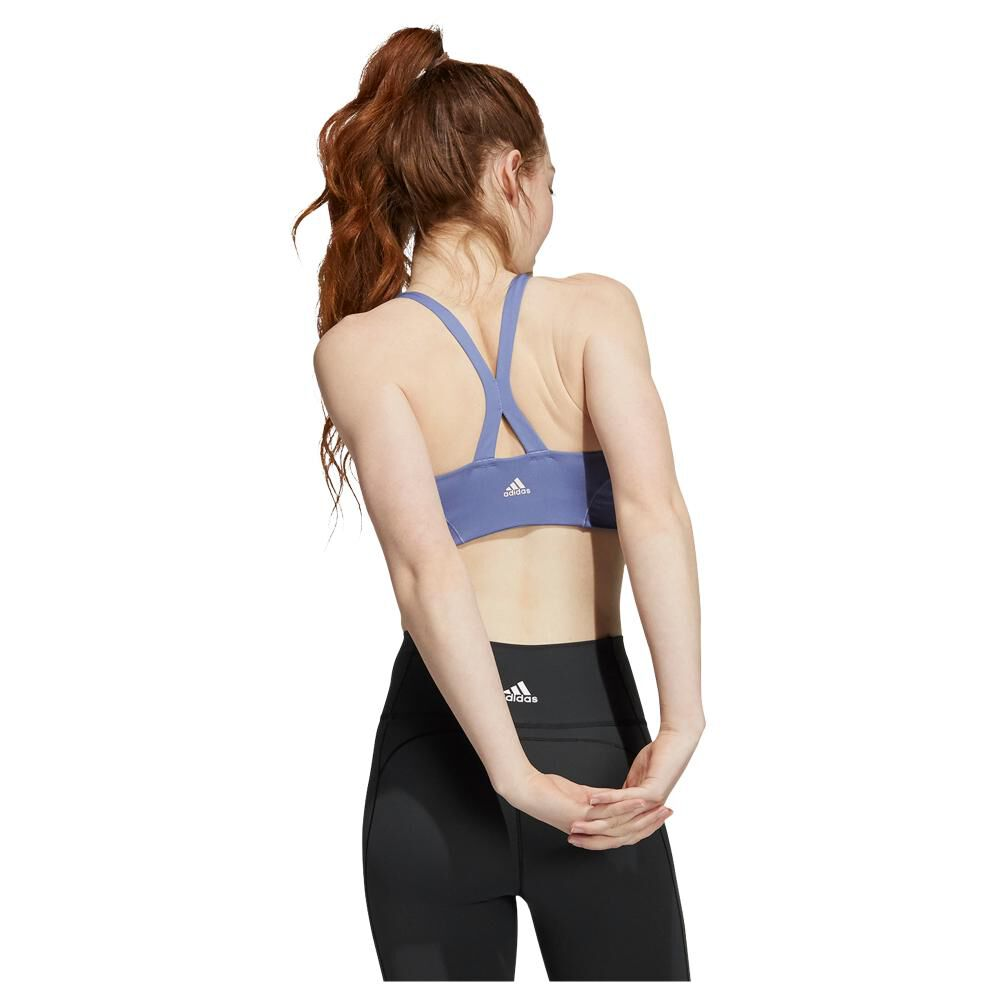 Peto Deportivo Mujer Adidas Light Support Yoga Bra image number 2.0