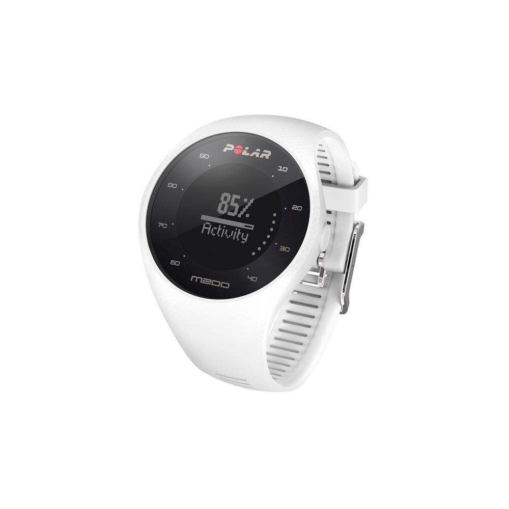 Smartwatch Polar M200  Blanco image number 1.0