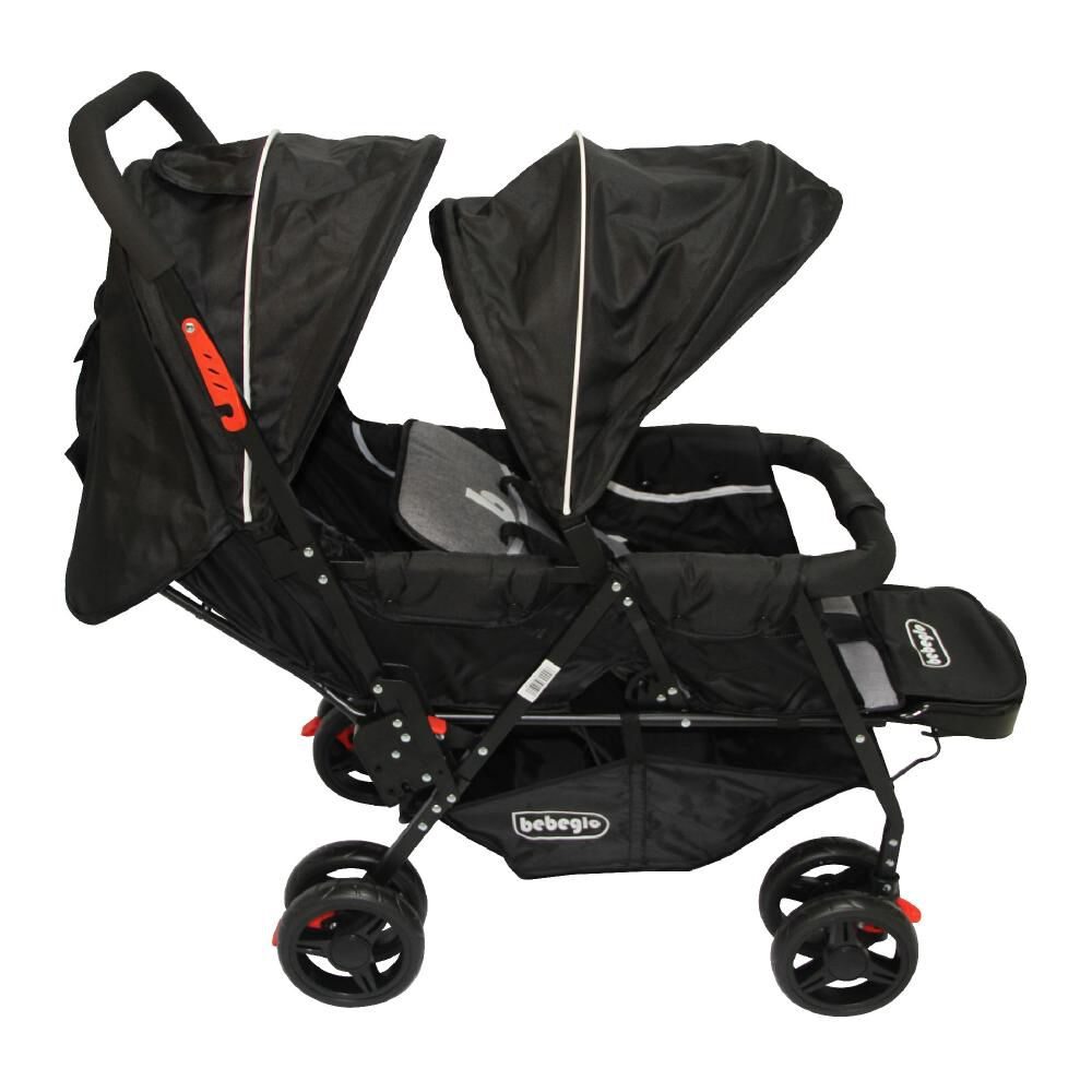 Coches Doble Duo Prix Rs-13300-4 Gris-Negro image number 1.0