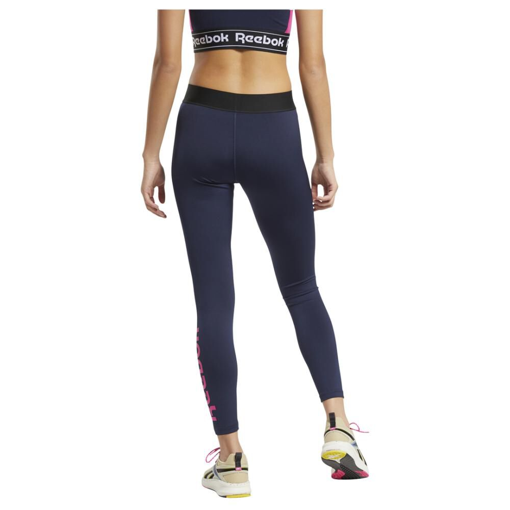 Calza Mujer Reebok Training Essentials Linear Logo image number 1.0