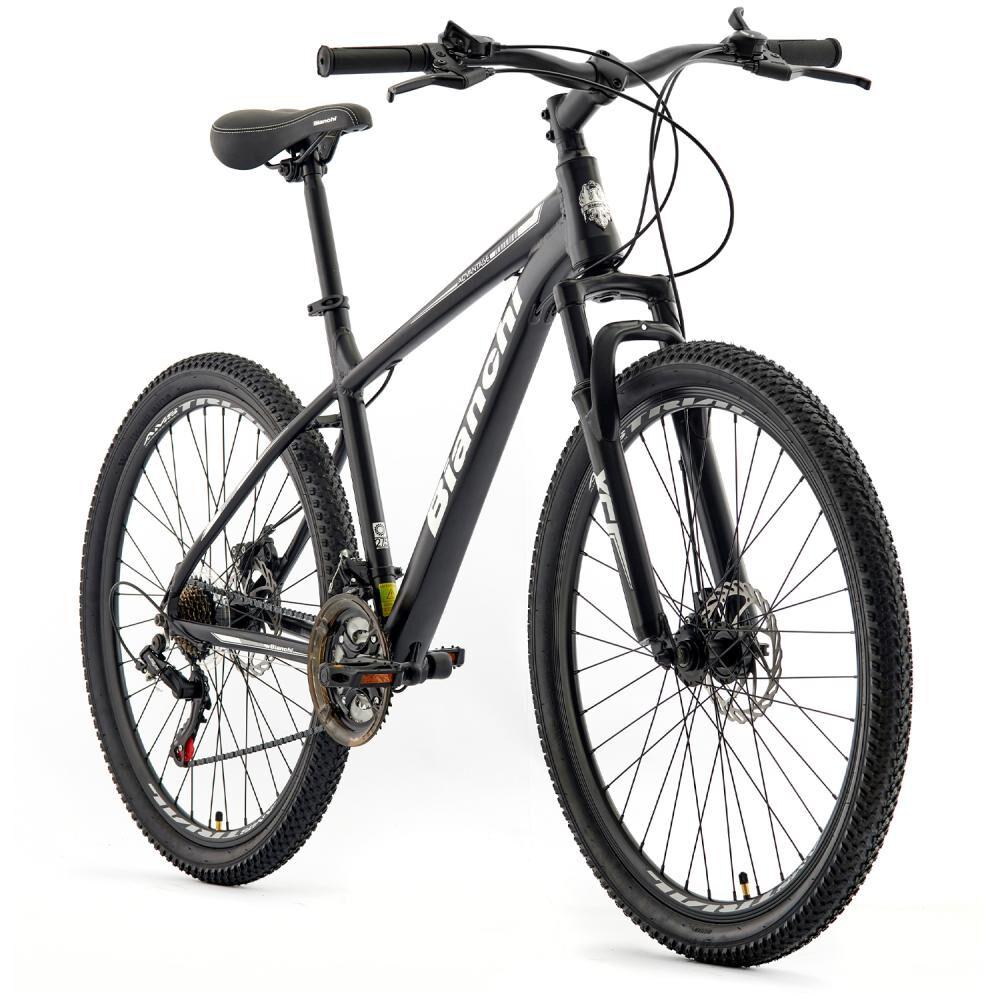 Bicicleta Mountain Bike Bianchi Advantage 27,5 Sx Negro Semi Matte / Blanco / Aro 27.5 image number 1.0