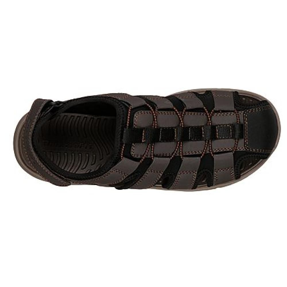 Sandalia Hombre Skechers Closed Toe Sandal image number 4.0
