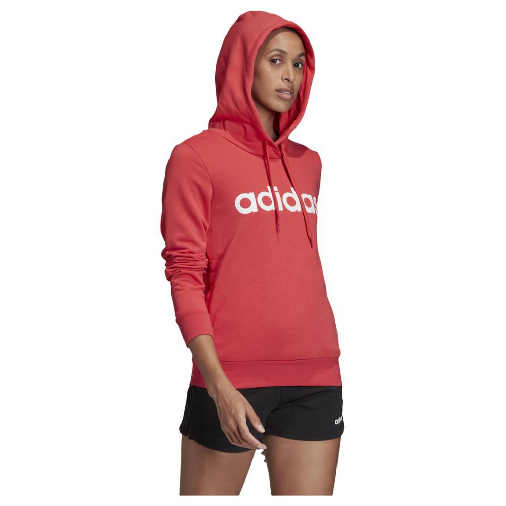 Poleron Deportivo Mujer Adidas Essentials Linear Over Head image number 2.0