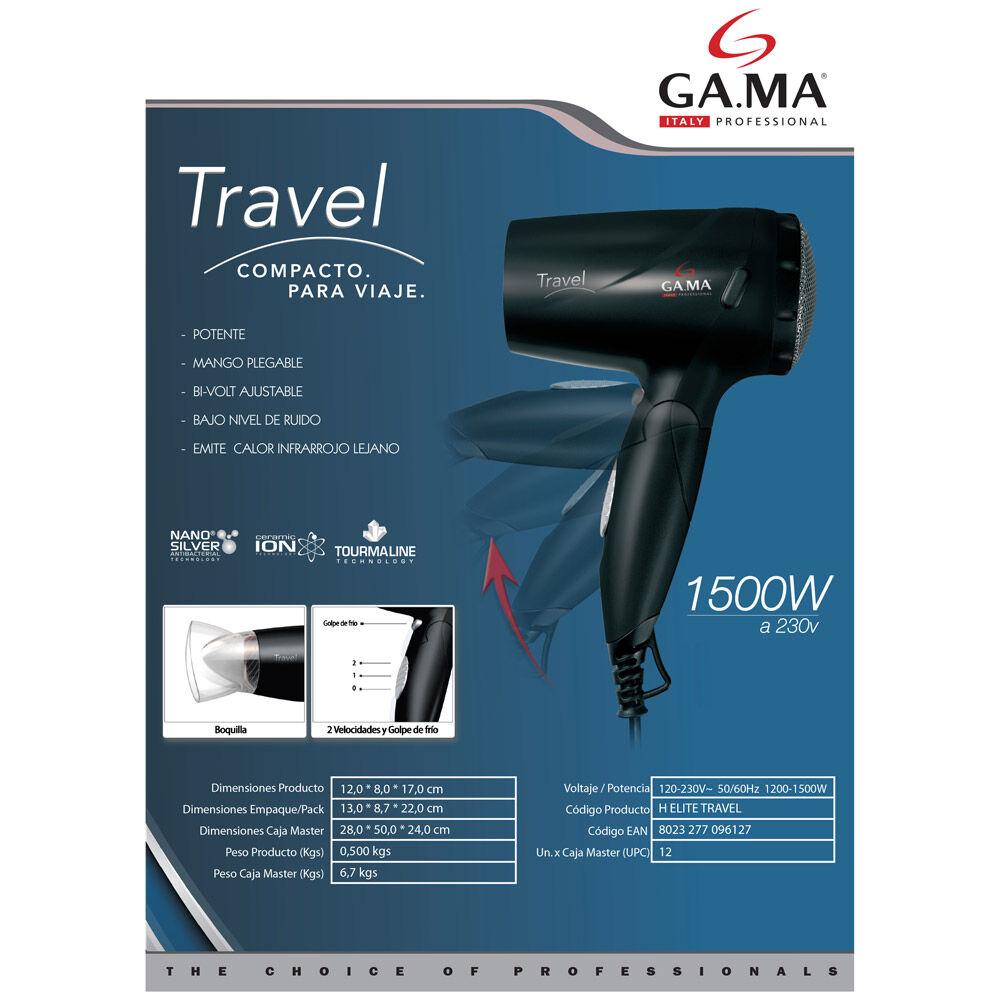 Secador De Pelo Gama Elite Travel image number 1.0
