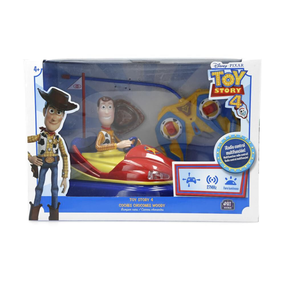 Figura De Pelicula Toy Story Coches Chocones Woody image number 1.0