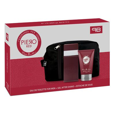 Estuche Red Piero Butti / 100 Ml / Edp  + Gel After Shave 100 Ml