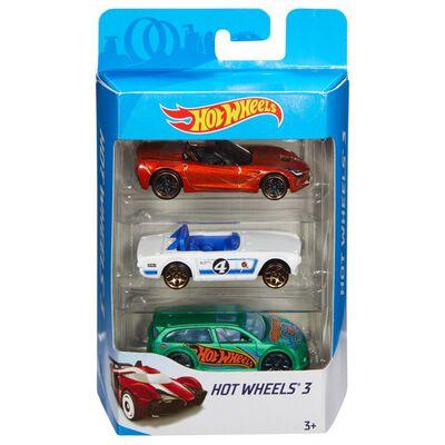 Auto De Juguete Mattel Intl 3-Pck