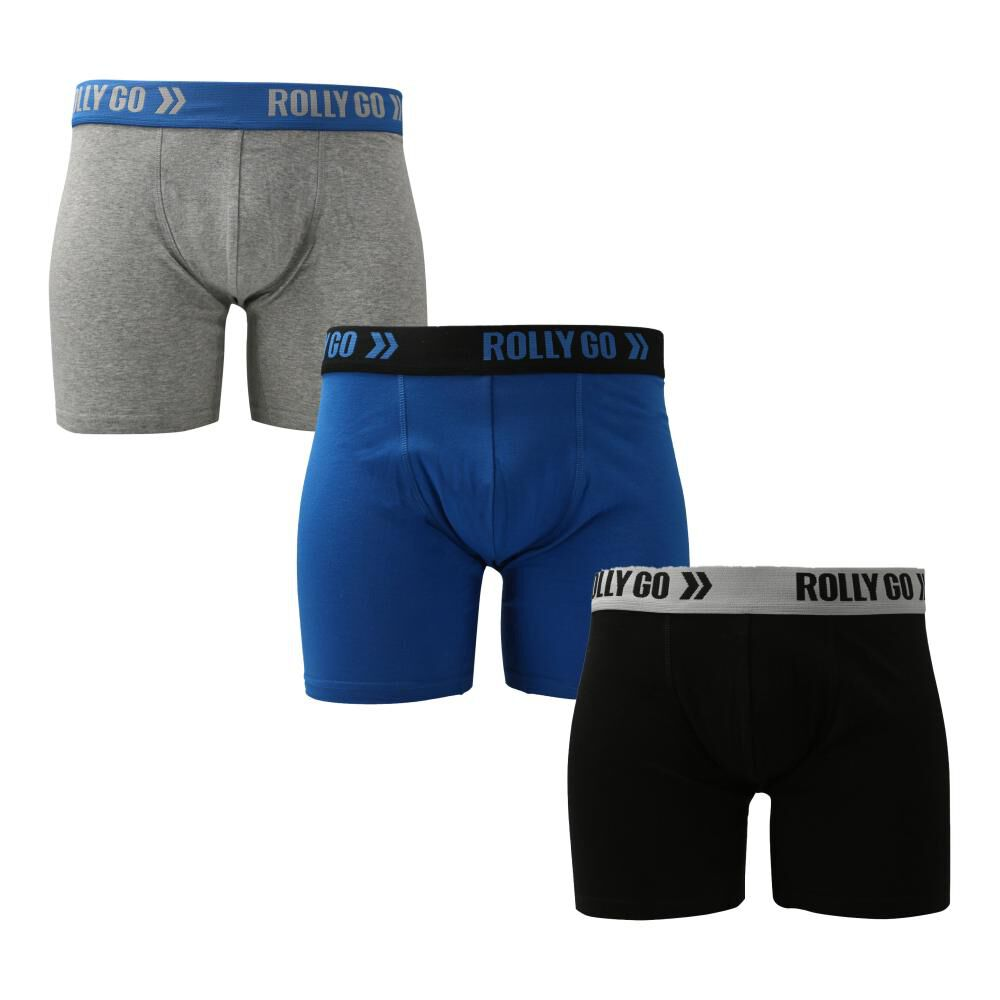 Pack Boxer Clásico Unisex Rolly Go / 3 Unidades image number 0.0